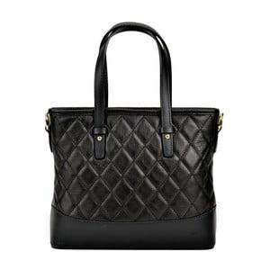 Černá kožená kabelka Renata Corsi Muriello Lento