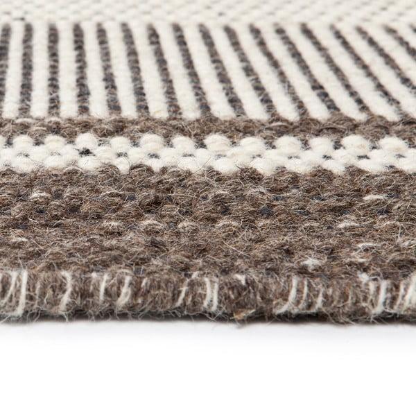 Vlněný koberec Sheen Grey, 140x200 cm