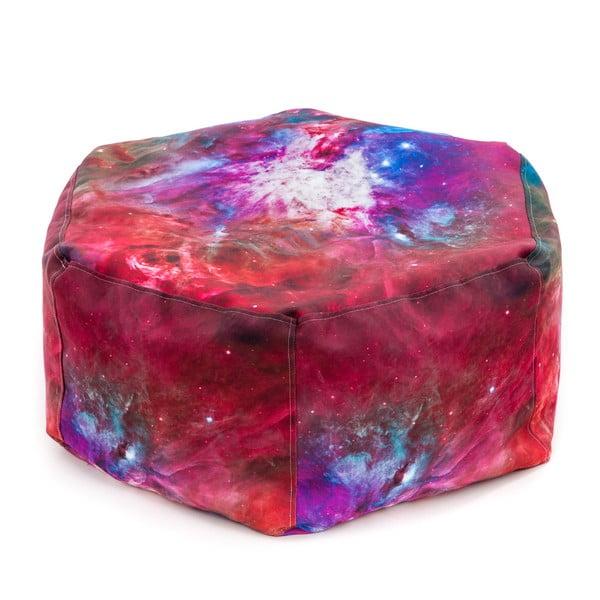 Sedací vak Pink Nebula Cube