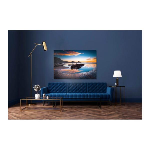 Obraz Styler Glasspik Views Ocean Sunset, 80 x 120 cm