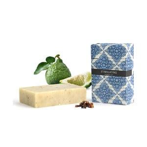 Povzbuzující přírodní mýdlo s vůní bergamotu, máty, eukalyptu a pomeranče HF Living