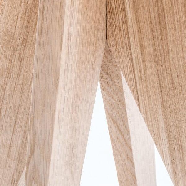 Dubový jídelní stůl Medusa, Ø 110 cm
