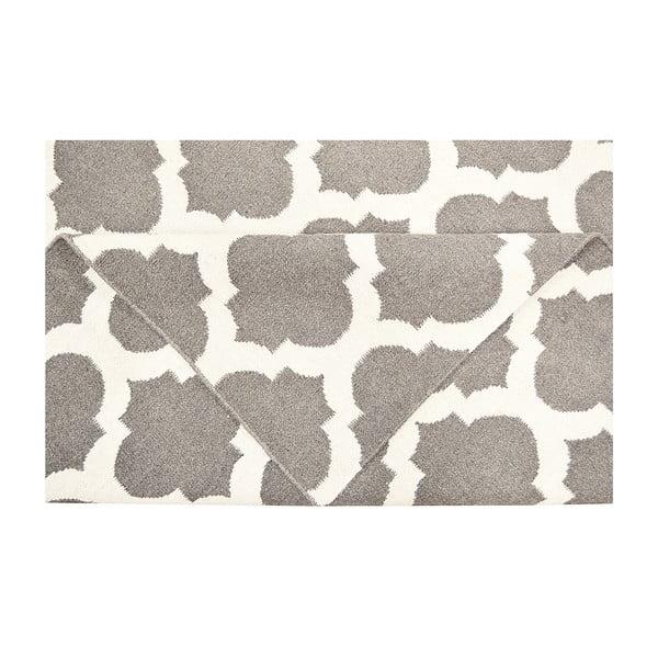 Vlněný koberec Julia Dark Grey, 120x180 cm