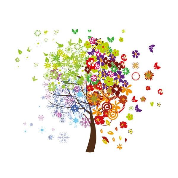 Dekorativní samolepka Barevný strom
