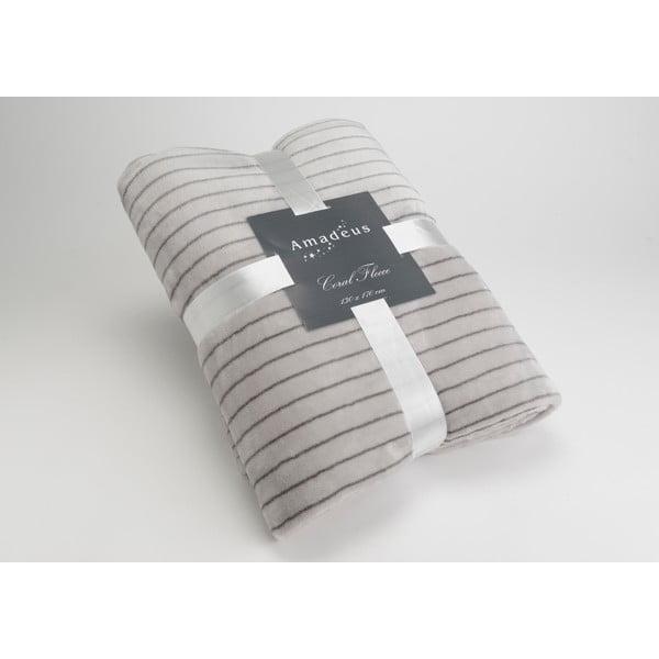 Deka Stripe Grey, 170x130 cm