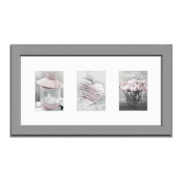 Rámeček na 3 fotografie Styler Galeria Malmo AB, 23 x 46 cm
