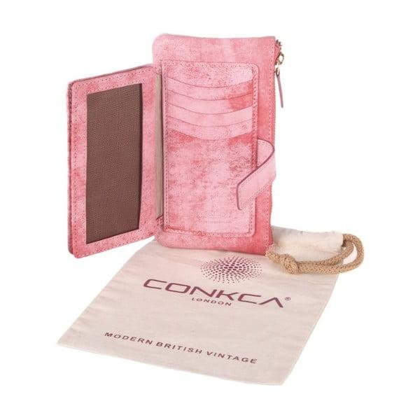 Kožená peněženka Uma Cloudy Pink