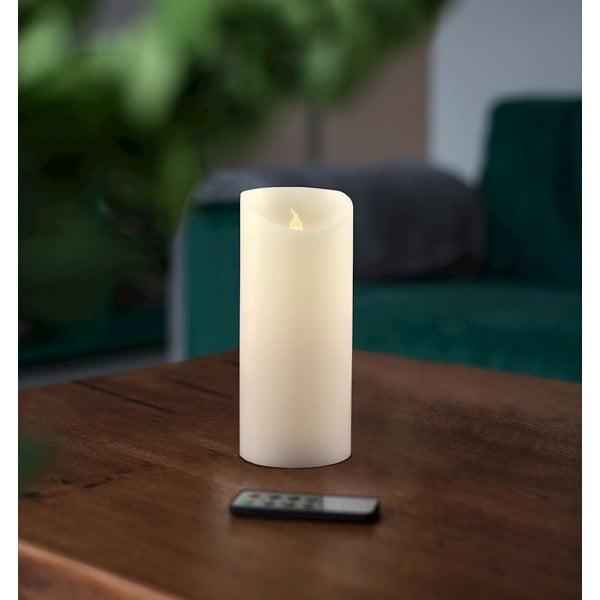 Subtle gyertya formájú LED lámpa távirányítóval, magasság 15 cm - DecoKing