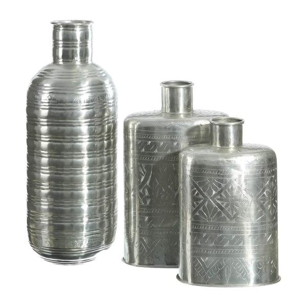 Váza ve stříbrné barvě Denzzo Arabian
