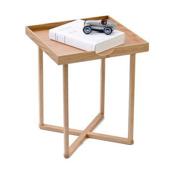 Măsuță auxiliară din lemn cu blat detașabil Wireworks Damieh, 37 x 45 cm de la Wireworks