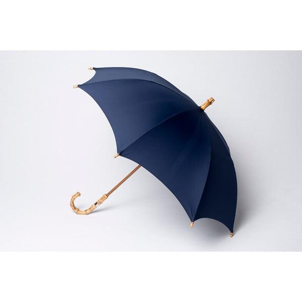 Bambusový deštník Gents, modrý