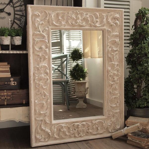 Zrcadlo Antique Sand, 90x121 cm