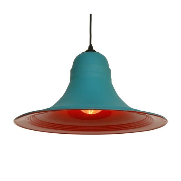 Červenomodré stropní svítidlo Outside
