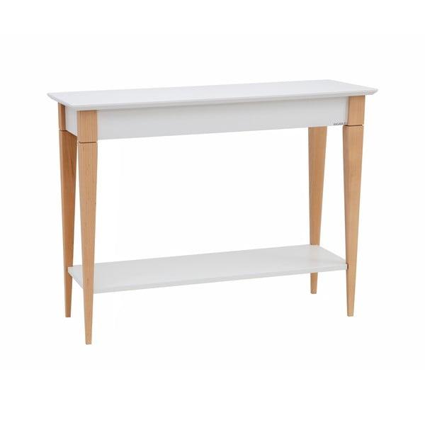 Mimo fehér konzolasztal, szélesség 105 cm - Ragaba