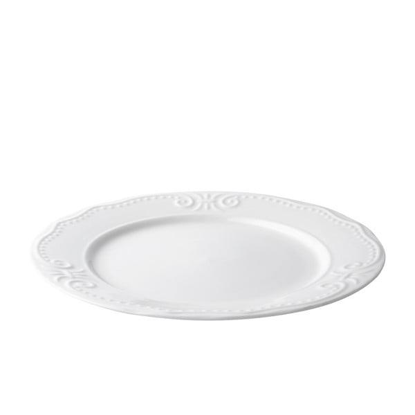 Sada 6 mělkých talířů Rosa