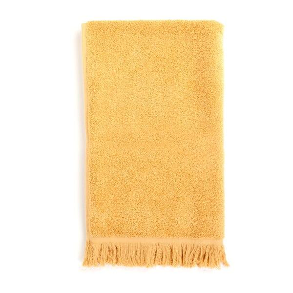 Sada 2 žlutých bavlněných ručníků Casa Di Bassi Sun, 50x90cm