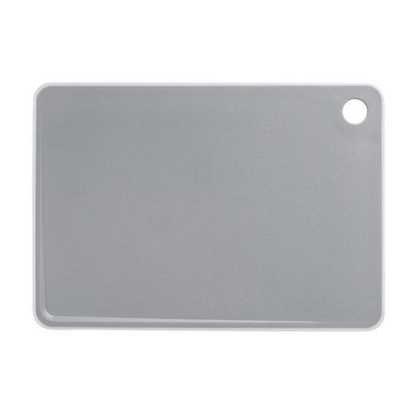 Sivá doska na krájanie Wenko Basic, 29 x 20,5 cm