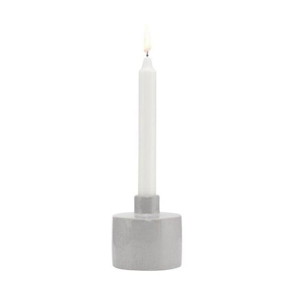 Kameninový svietnik A Simple Mess Ortona Glacier Grey, ⌀ 9 cm
