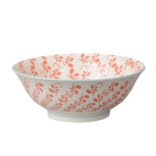 Porcelánová miska Soba Orient Red, 21x7,8 cm