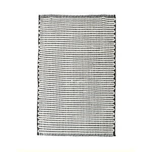 Oboustranný bavlněný ručně tkaný koberec Pipsa Points, 60x90 cm