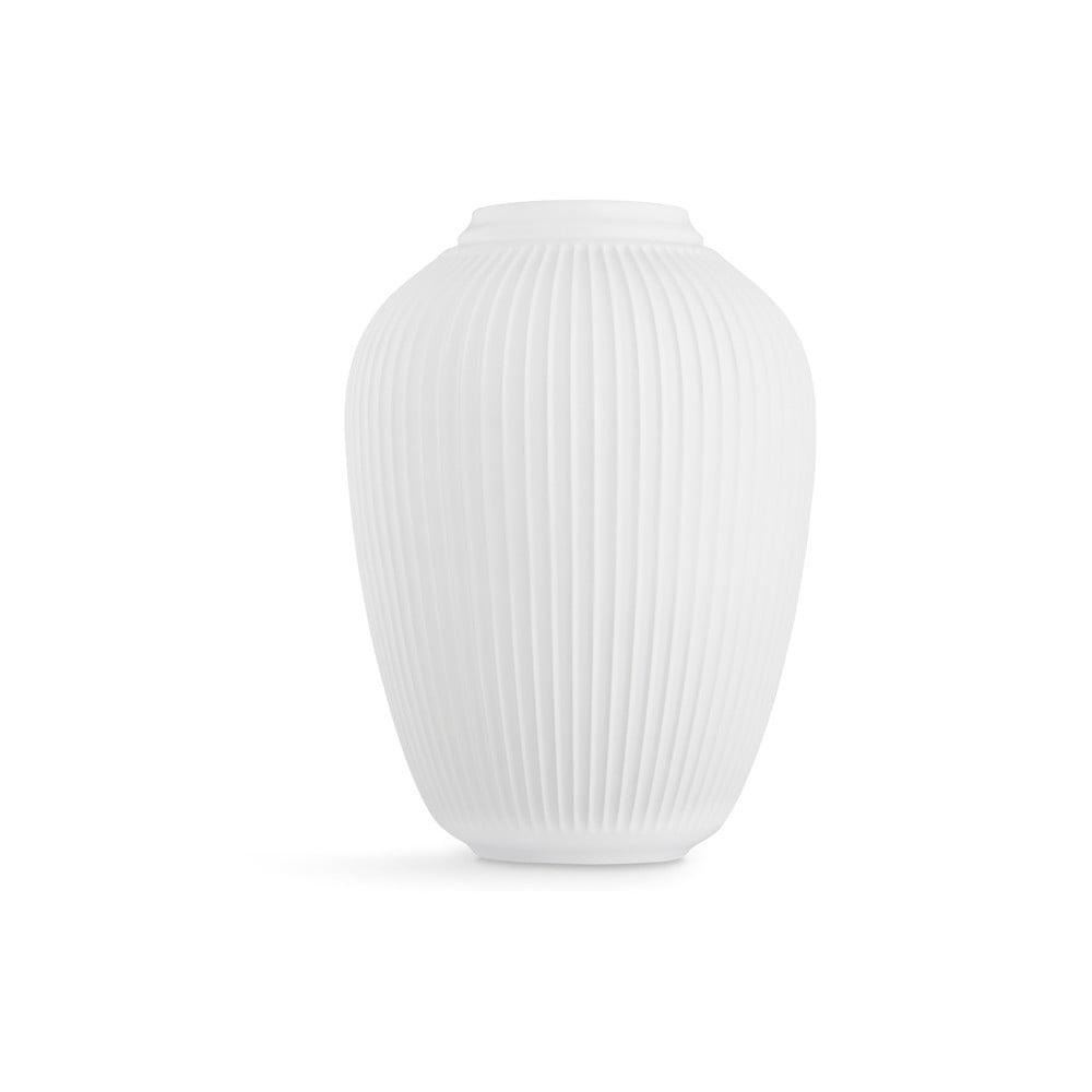 Bílá volně stojící kameninová váza Kähler Design Hammershoi, výška 50 cm