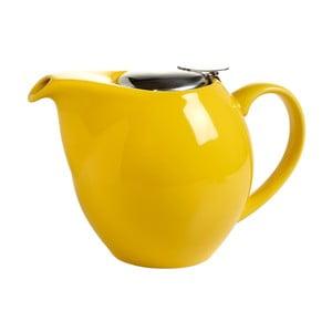 Žlutá kameninová konvice se sítkem na čaj Maxwell&Williams Infusion T, 1l