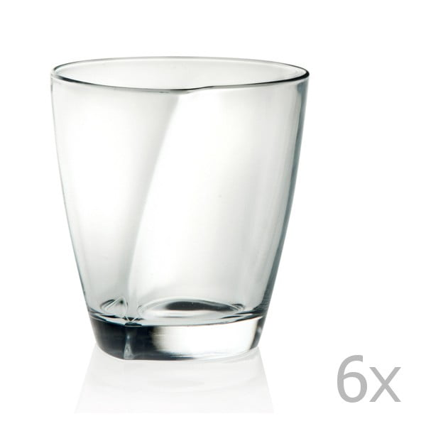Sada 6 pohárov RCR Cristalleria Italiana Renata