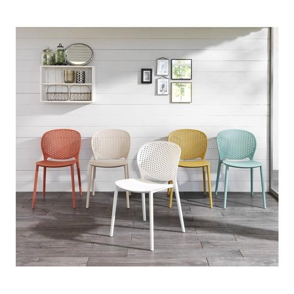 Sada 4 béžových židlí Design Twist Gavle