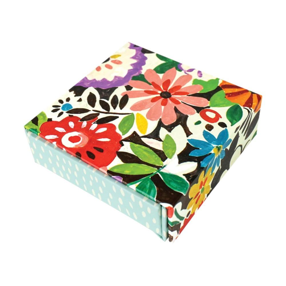 Bloček na poznámky v krabičce Collier Campbell by Portico Designs, 80 listů