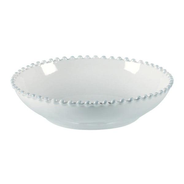 Biała kamionkowa misa Costa Nova Pearl, ⌀ 23 cm