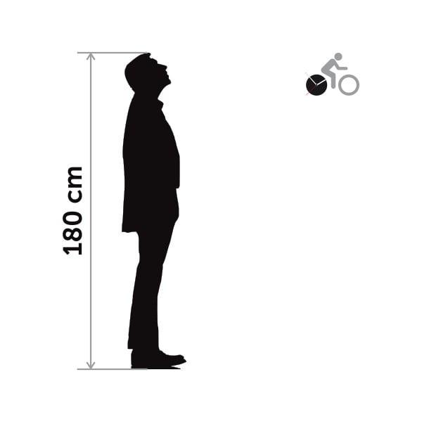 Hodiny se samolepkou Bike