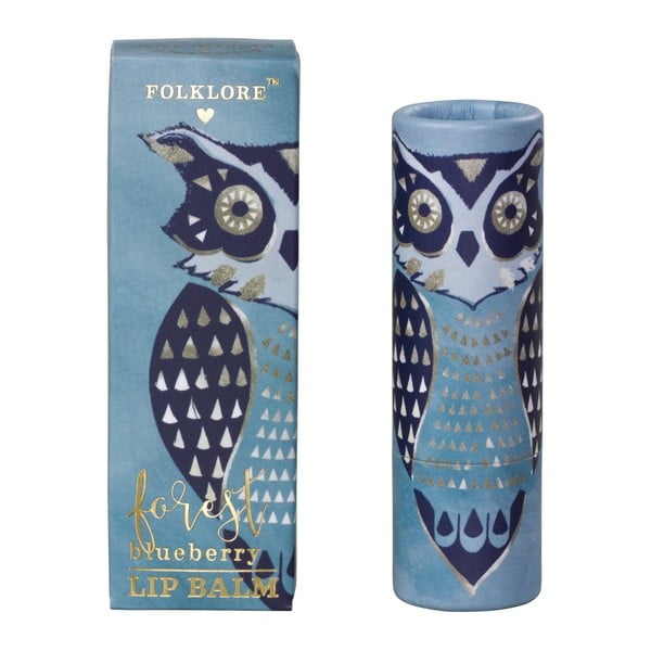 Borůvkový balzám na rty Folklore Owl