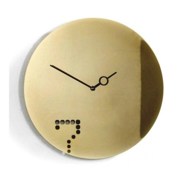 Designové hodiny Seven Gold, 40 cm