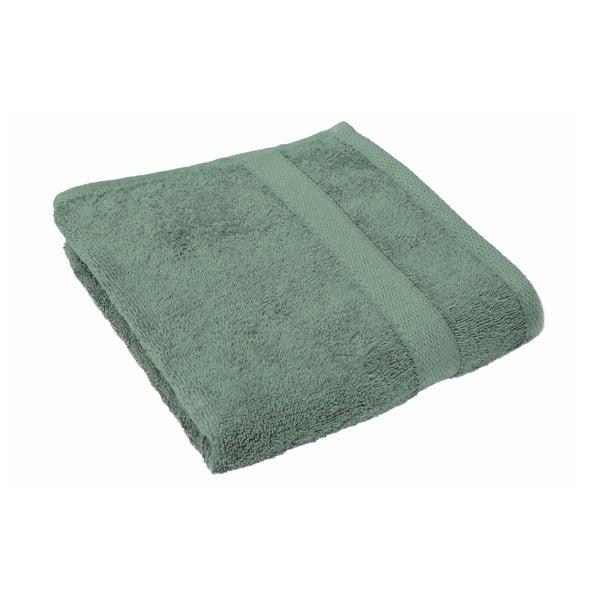 Zielony ręcznik Tiseco Home Studio, 50x100 cm