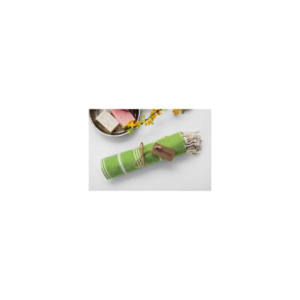 Hammam osuška Sabba Green, 100x180 cm