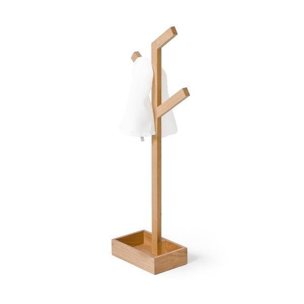 Dřevěný stojan na osušky Wireworks Mezza Branch