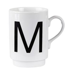 Porcelánový písmenkový hrnek M