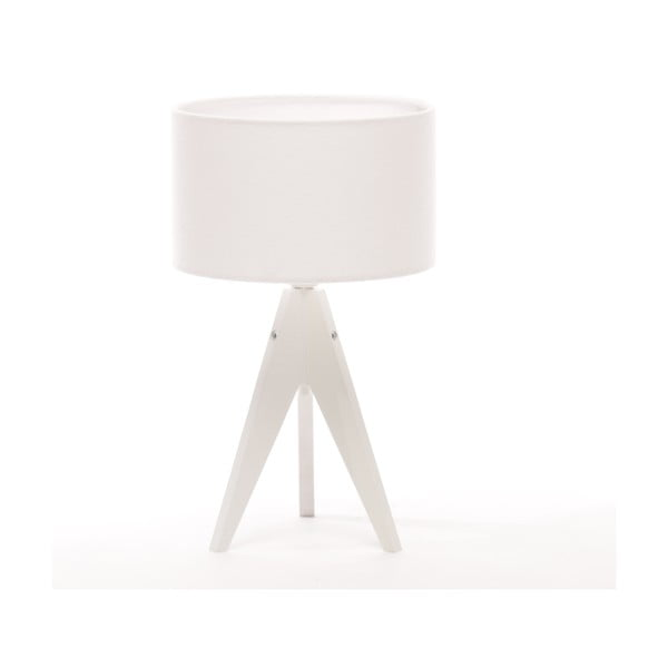 Stolní lampa Arist Cylinder White/White