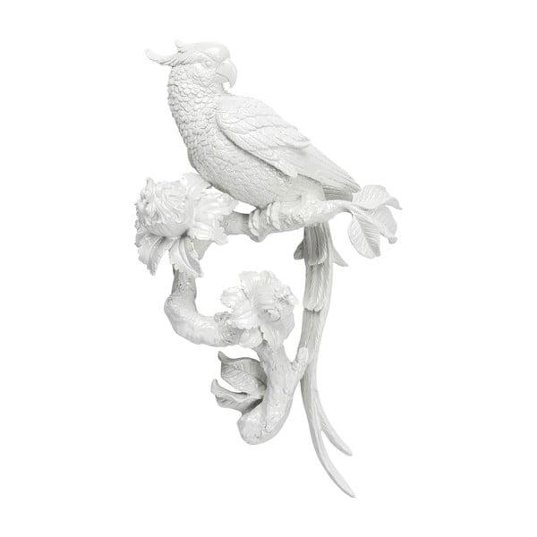 Nástěnná bílá dekorace Kare Design Flowers
