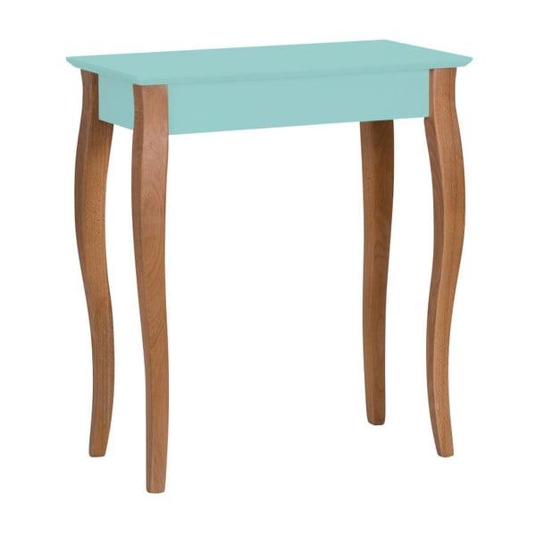Světle tyrkysový konzolový stolek Ragaba Lillo, šířka65cm