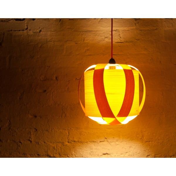 Ručně vyráběné světlo Drum, jasan