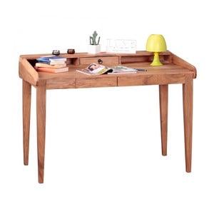 Pracovní stůl z masivního akáciového dřeva Skyport BOHA