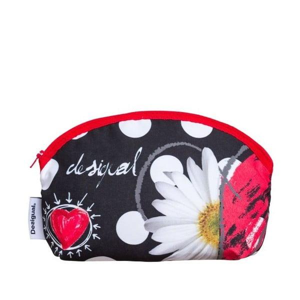 Kosmetická taška DESIGUAL Polka Dots Negro