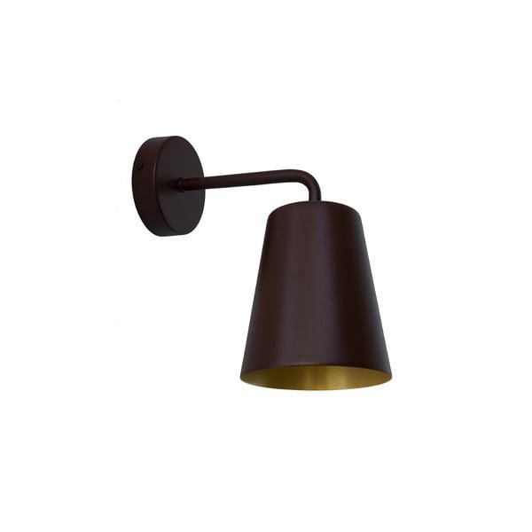 Hnědé nástěnné světlo Loft You Pot