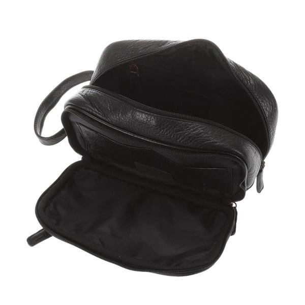 Pánská kožená kosmetická taška Natural Pebbled Hide