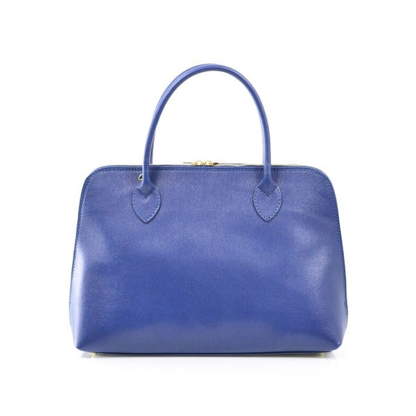 Kožená kabelka Dominique, modrá