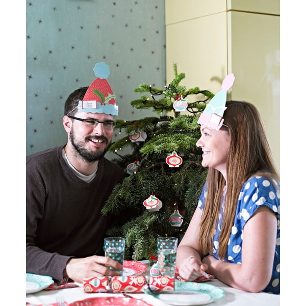 Párty dekorace na focení Christmas Booth