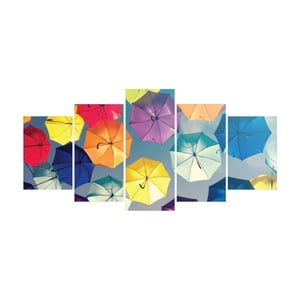 Vícedílný obraz La Maison Des Couleurs Umbrellas