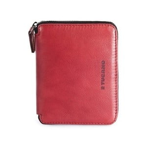 Červená peněženka z italské kůže Tucano Sicuro