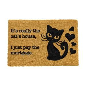 Rohožka Artsy Doormats It's really the Cats House,40x60cm